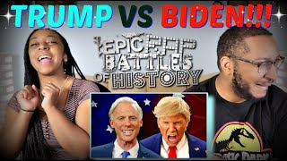 "Epic Rap Battles Of History ""Donald Trump vs Joe Biden"" REACTION!!!"