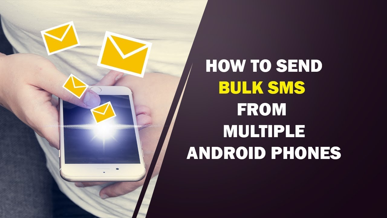 Android Bulk SMS sender software| how to send bulk sms