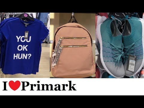 Everything new at Primark February 2018 | Fashion, shoes, makeup, bags, jewellery | I❤Primark