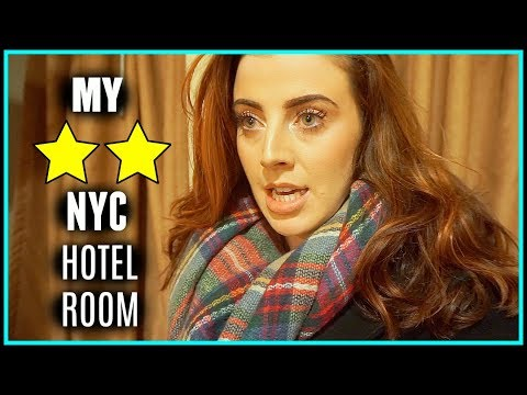 My TWO STAR NYC Hotel! [Laura's Views]