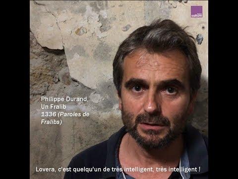 Philippe Durand interprète un extrait de