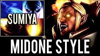 SUMIYA GOD MODE ON ! IMPOSSIBLE INVOKER - MidOne 10k MMR IMMORTAL STYLE - Dota 2