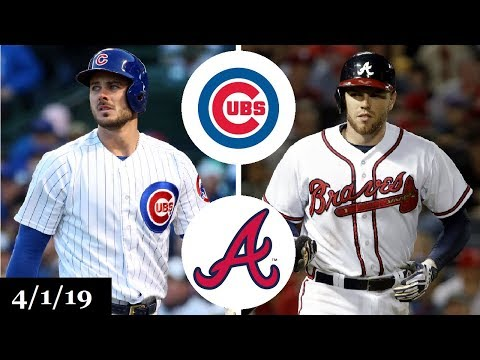 Chicago Cubs vs Atlanta Braves Highlights | April 1, 2019