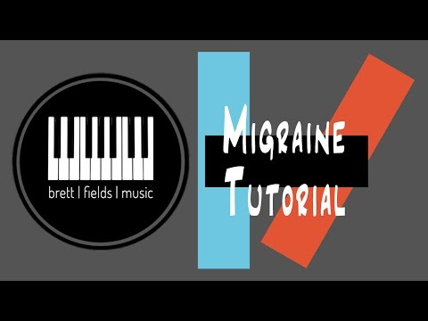 Migraine Piano Tutorial - Twenty|One|Pilots