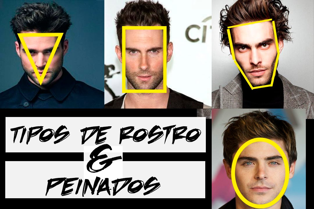 "peinados segun tu rostro ""hombres"" 