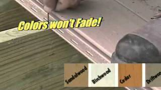 Genovations Vinyl Decking - Glenbrook U