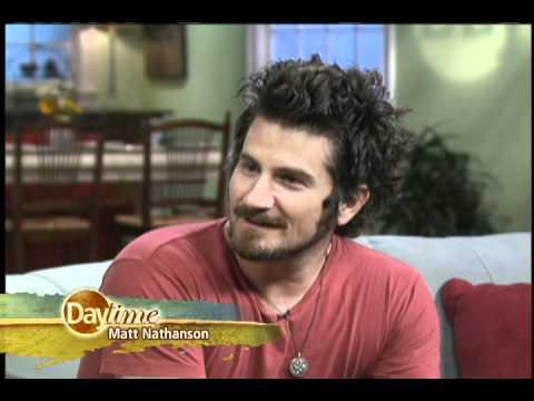 """Matt Nathanson Performance/Interview On """"Daytime"""""""