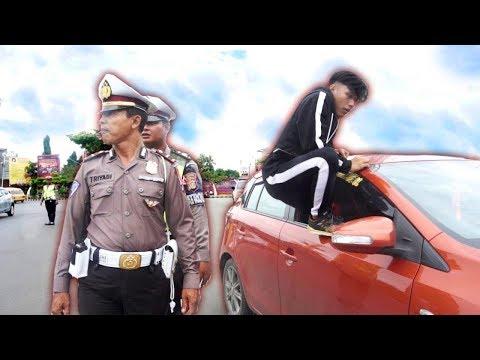 Image of Nekat Kabur Di Tilang POLISI  -  Parkour VS Police