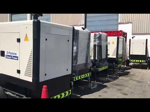 Perkins Diesel Generators for our customer in West Africa