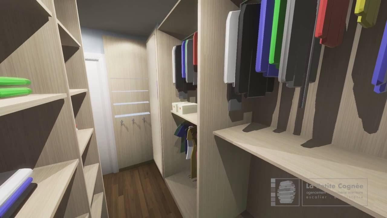 Aménagement d\'une chambre avec un dressing - YouTube