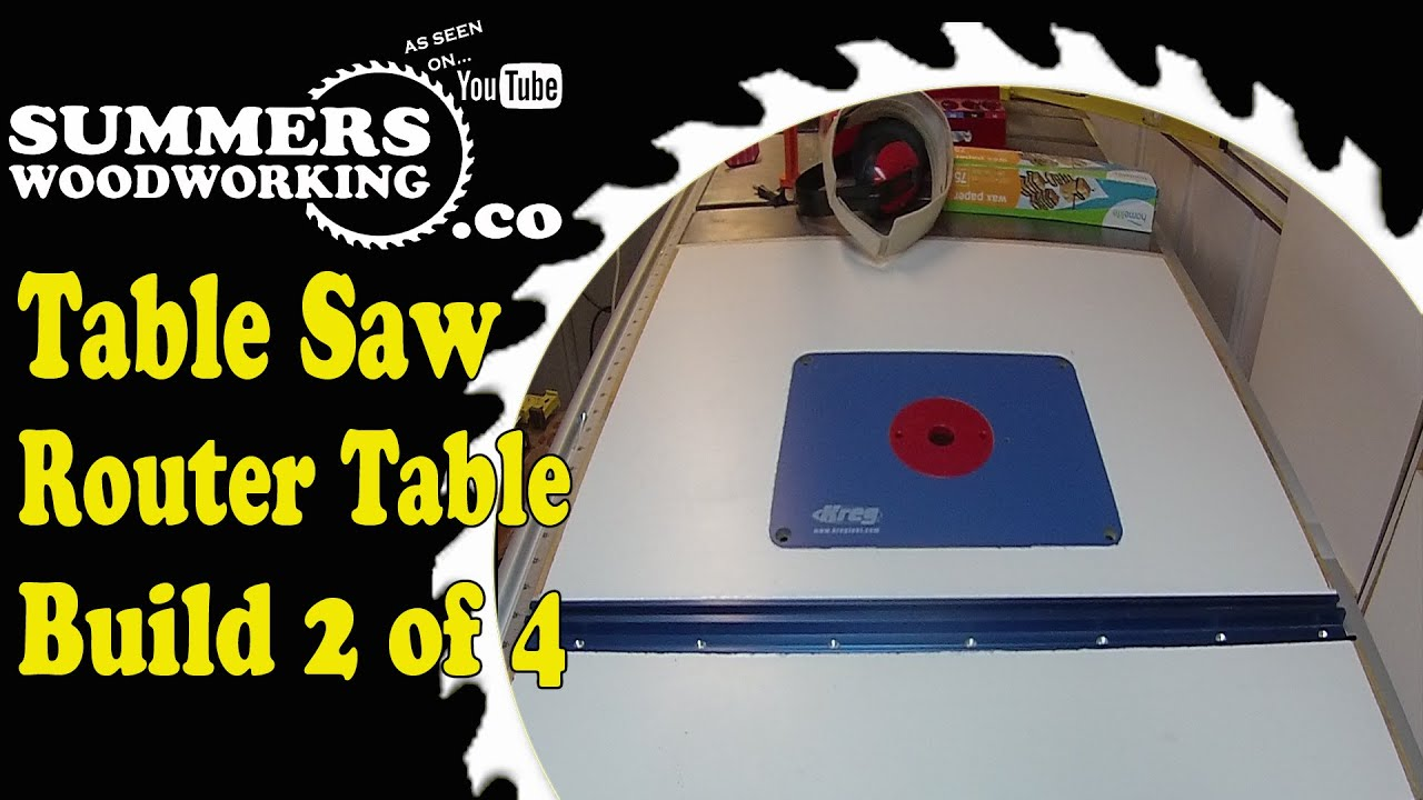 Table saw router table wing 2 of 4 youtube greentooth Image collections