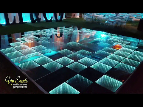 LED DANCE FLOOR @ CIMARRON CLUB mcallen - mission rgv tx by VIP Events Company 2017