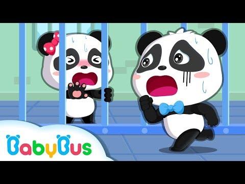 Colored Monsters Catch Baby Panda | Math Kingdom Adventure Episode 1-10 | BabyBus Cartoon