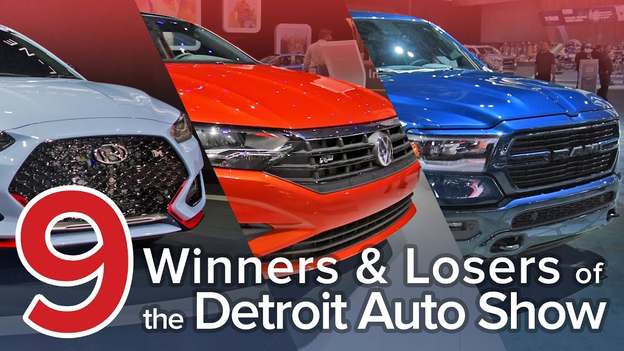 9 Winners and Losers of the 2018 Detroit Auto Show: The Short List - Dauer: 6 Minuten, 3 Sekunden