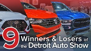 9 Winners and Losers of the 2018 Detroit Auto Show: The Short List