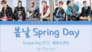BTS (방탄소년단) - Spring Day (봄날) Han/Rom/IndoSub