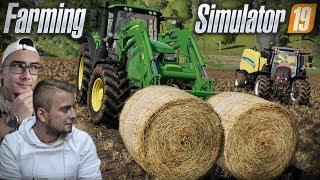 Prasowanie i Zbieranie Słomy ✔ [ Od początku, do majątku #6 ] Let's Play Farming Simulator 19