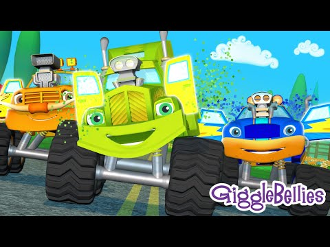 Wheels On The Bus… wait, Wheels On The Truck! + More Nursery Rhymes