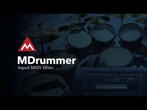 MDrummer #8 - Input MIDI filter