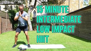 15 Minute Low Impact Home HIIT Workout | The Body Coach