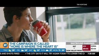 A look at Shawn Mendes' new heartwarming campaign with Tim Hortons