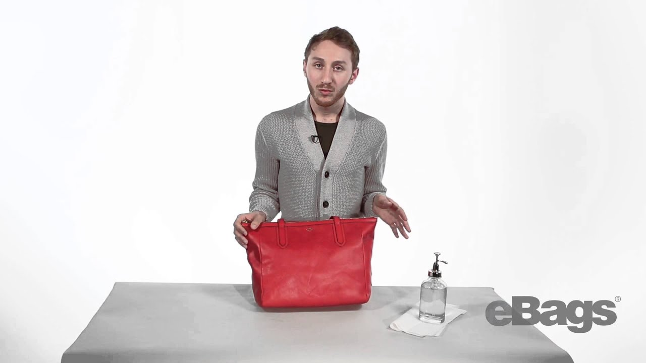 prada white tote bag - How To Clean Your Leather Handbag - YouTube