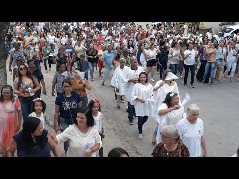Procissão De SÃO Miguel Arcanjo Lagedo Do Tabocal Ba⁹
