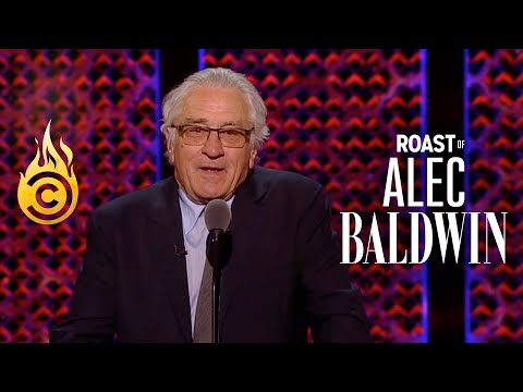 Robert De Niro Doesn't Know What The F**k He's Doing Here - Roast Of Alec Baldwin