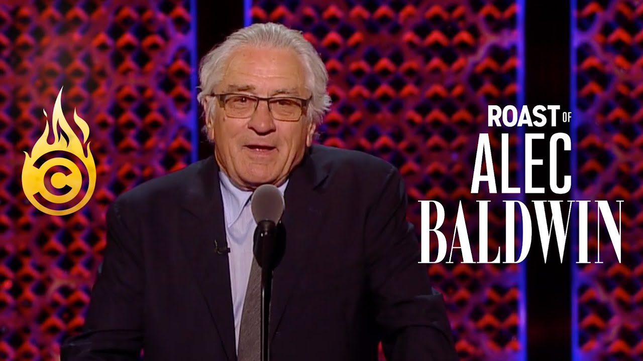 Robert De Niro Doesn't Know What the F**k He's Doing Here - Roast of Alec Baldwin
