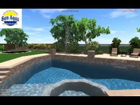Ben & Becky Sims Pool & Spa By Sun Aqua Pools