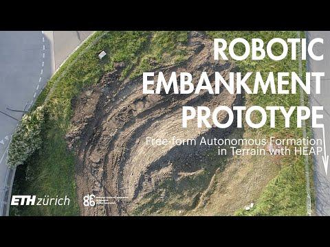 Robotic Embankment Prototype