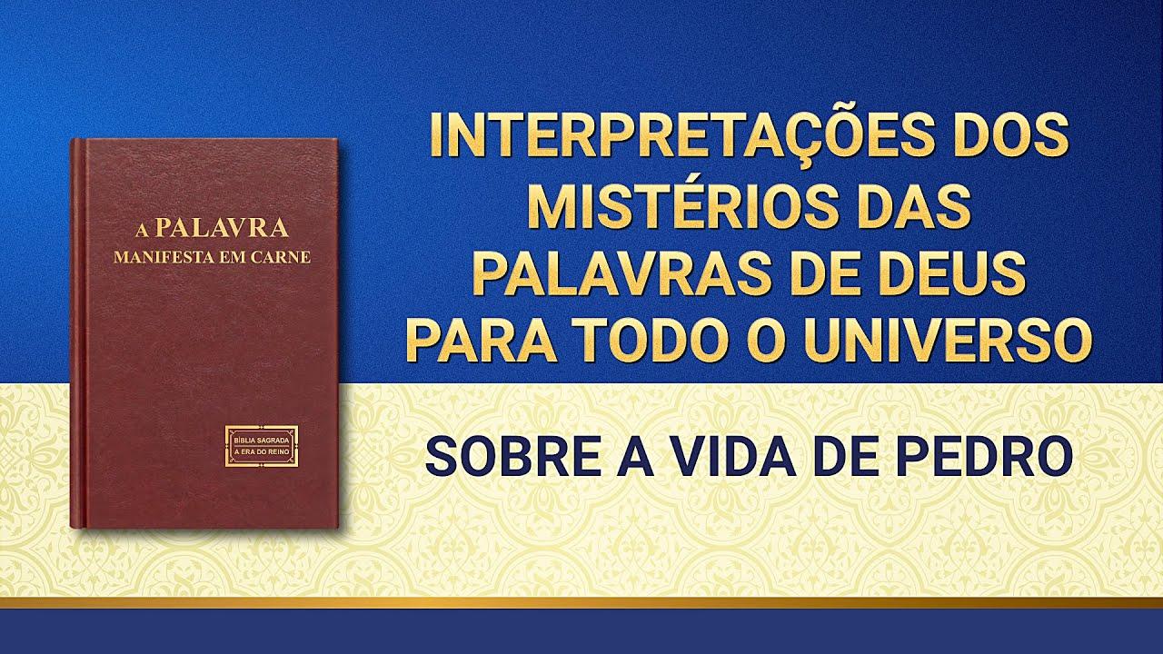 """""""Interpretações dos mistérios das palavras de Deus para todo o universo: Sobre a vida de Pedro"""""""