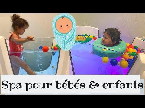 Les bébés et enfants ont aussi leur SPA ! 💦🐥