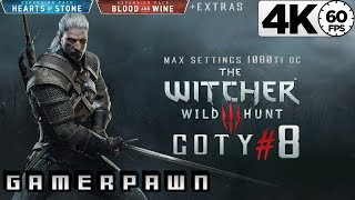 The Witcher 3: Wild Hunt 4K GOTY Edition 2160p 60fps Max Settings Death-March Part 8