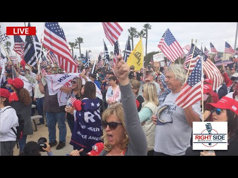 ? LIVE: Pro Trump Celebration in West Palm Beach, FL on Presidents' Day 2/15/21