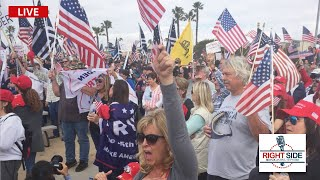 🔴 LIVE: Pro Trump Celebration in West Palm Beach, FL on Presidents' Day 2/15/21