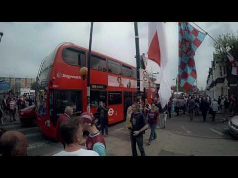 Farewell Boleyn Ground - Green Street walk (London Boys)