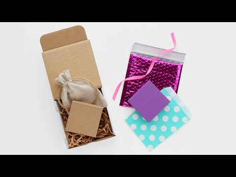 DIY Jewelry Packaging: Natural & Colorful