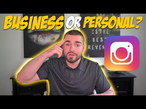 Switching To A Business Account Lowers Engagement? 2019 BIZ VS PERSONAL ACCOUNTS