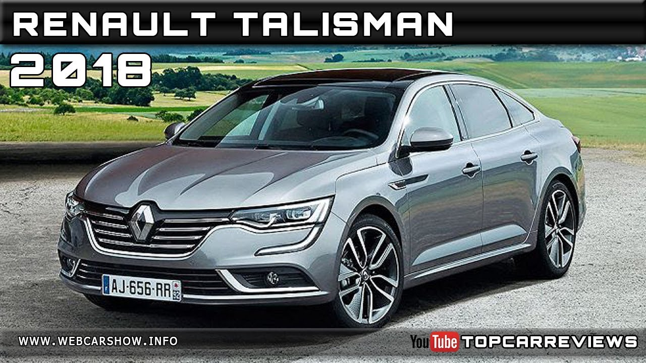 2018 renault talisman review rendered price specs release date youtube. Black Bedroom Furniture Sets. Home Design Ideas