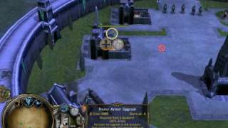 LOTR:BFME Gameplay - Gondor battle, PART I