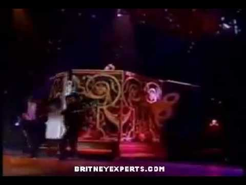Britney Spears Born To Make You Happy/Lucky/Sometimes Medley Live