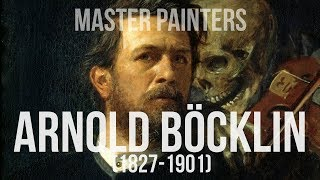 Arnold Böcklin (1827-1901) A collection of paintings 4K