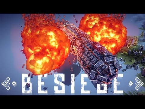 Besiege Best Creations - Big Dog Walker, AMAZING Monster Tru