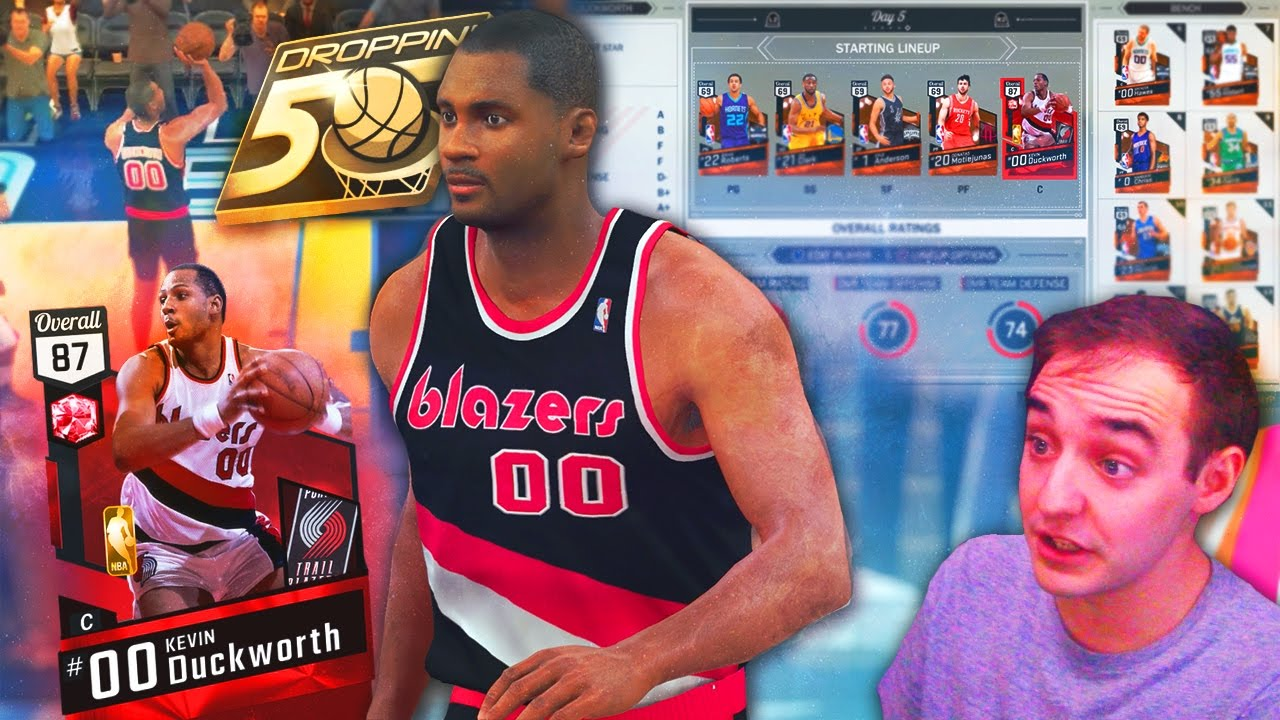 NBA 2K17 My Team DUCKWORTH DROPPING 50 CHALLENGE GONE WRONG 25