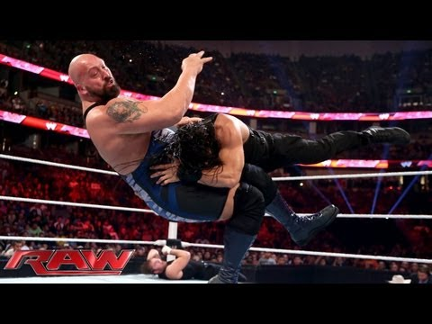 Big  vs. The Shield  3on1 Handicap Match: Raw, August 19, 2013