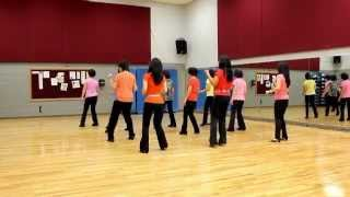 Angel In Blue Jeans - Line Dance (Dance & Teach in English & 中文)