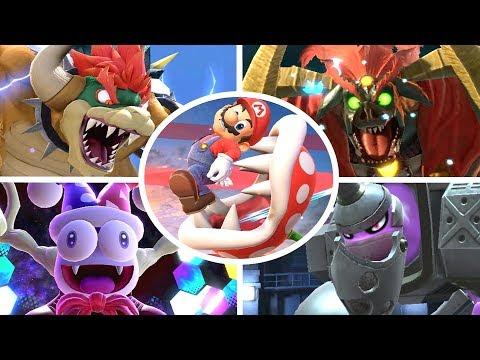Piranha Plant vs All Bosses in Super Smash Bros Ultimate thumbnail
