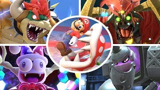 Piranha Plant vs All Bosses in Super Smash Bros Ultimate