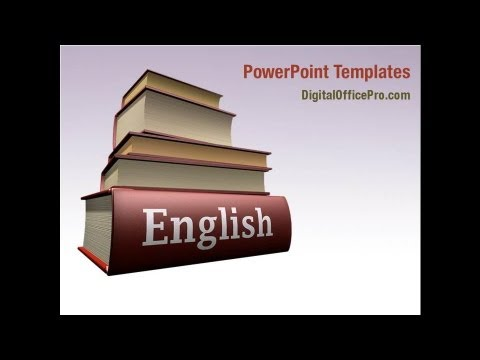 Learning english powerpoint template backgrounds digitalofficepro learning english powerpoint template backgrounds digitalofficepro 03505 toneelgroepblik Image collections